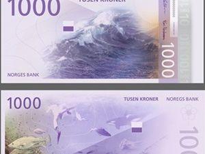 Yeni banknotları tablo gibi