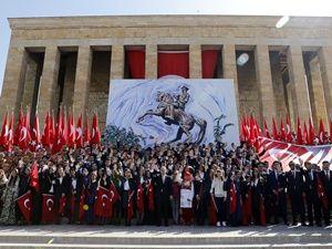 Türkiye'de 19 Mayıs coşkusu