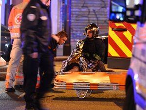 Fransa'daki terör saldırından görüntüler