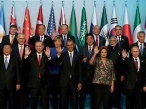 G20 objektiflere böyle yansıdı