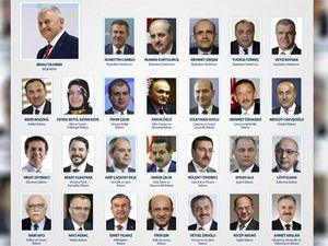 İşte 65. hükümetin bakanları
