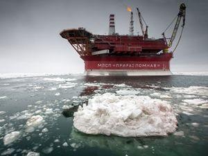 Rusya'nın kutuplardaki ilk petrol platformu
