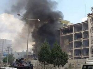 Mardin'deki bombalı saldırıdan ilk görüntüler