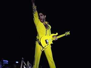 Prince'in gitarı 138 bin dolara satıldı