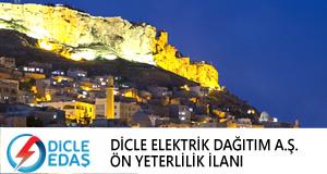 Dicle Elektrik Dağıtım A.Ş. Ön Yeterlilik İlanı