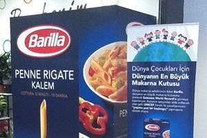 Dünyanın en büyük makarna kutusu Türkiye'de üretildi