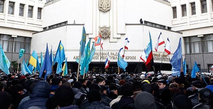 Kırım Rusya'ya bağlandı