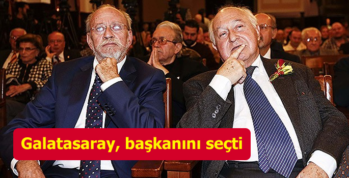 Galatasaray'ın yeni başkanı Duygun Yarsuvat oldu
