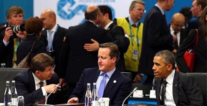 Obama ile Irak ve Suriye konusunu görüştü