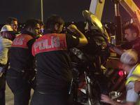 Polisler büyük tehlike atlattı