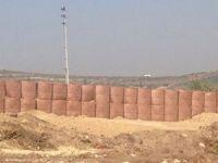 Suriye sınırına roketatara dayanıklı duvar örülüyor