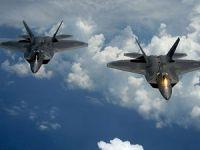 Savaş uçakları IŞİD'i bombalıyor