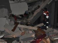 Gaziantep'te bina çöktü