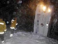 Kayseri'de 2 yolcu otobüsü devrildi: 69 yaralı
