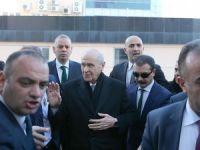 Bahçeli bir ay aranın ardından MHP Genel Merkezi'nde