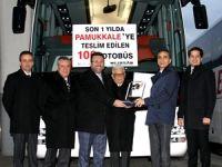 Pamukkale, bir yılda 100 otobüs aldı