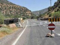Tunceli Valiliği'nden 'alternatif yol' uyarısı