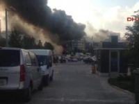 Ataşehir'de yangın gece kulübüne sıçradı