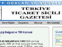 Türkiye Ticaret Sicili Gazetesi 55 yaşında