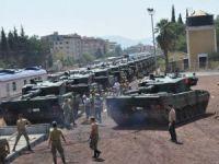 İstanbul'dan gönderilen tanklar İslahiye'de