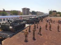 Zırhlı araçlar Gaziantep'e ulaştırıldı