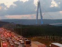 3'üncü köprüye yoğun ilgi devam ediyor