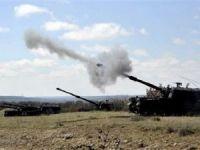 'Fırat Kalkanı' operasyonunda 20 hedef vuruldu