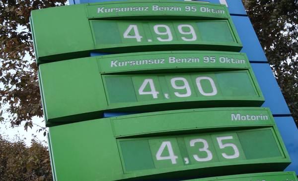 Tophane de bir benzin istasyonu 14 ekim 2012 pazar günü
