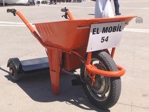 Liseli mucitler motorlu el arabası üretti