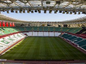 Torku Arena, milli maça hazır