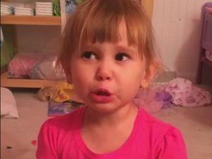 3 yaşında Dünyanın en tatlı yalancısı