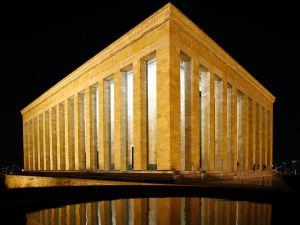 Anıtkabir'de akşam fotoğraf çekimi etkinliği