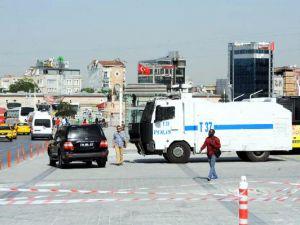 Taksim'de yoğun güvenlik önlemleri!