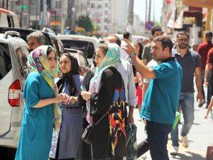 """İranlı turistler """"erken bayram"""" yaşattı"""