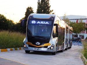 Dünyanın en büyük metrobüsü Bursa'da üretiliyor