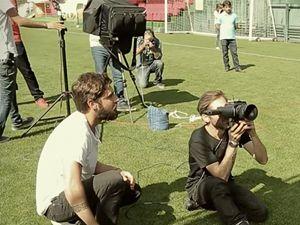 Galatasaray'ın forma çekiminin kamera arkası