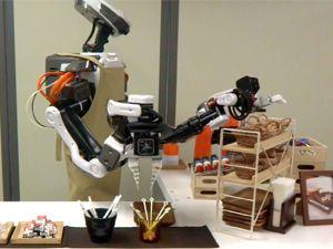 Hünerli robottan kahve ikramı!