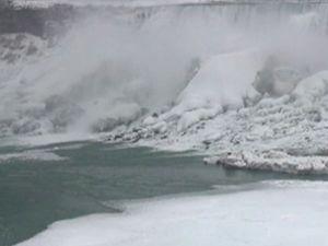 Niagara Şelalesi'ni böyle görmediniz!