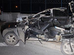 Bakırköy'de feci kaza