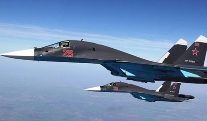 İngiliz ve Rus jetleri DEAŞ'ı vurdu