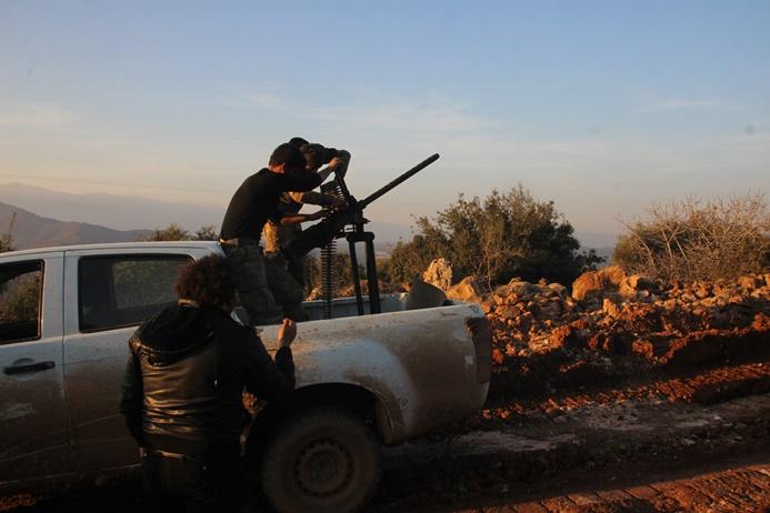 Afrin'de Eyn Batman Dağı terörden temizlendi