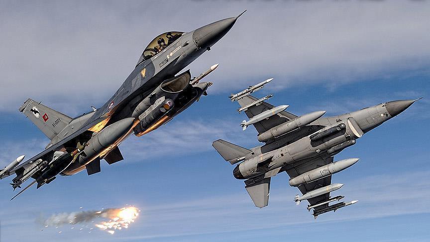 Irak'ın kuzeyinde 13 terörist etkisiz hale getirildi