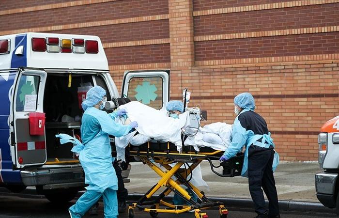 ABD'de COVID-19'dan yaşamını yitirenlerin sayısı 203 bin 188'e yükseldi